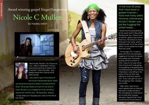 Issue 1 - Nicole C Mullen - My Redeemer 00029