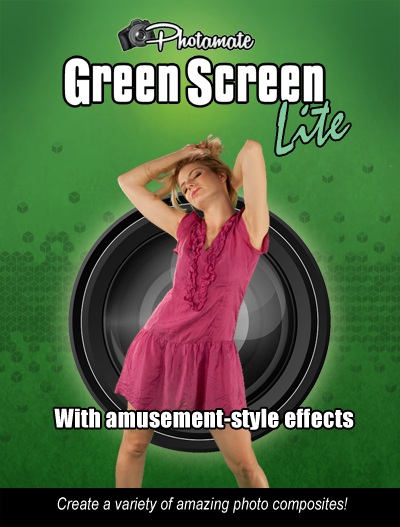 Save 67% - Photamate Lite 2.1 Green Screen Photo Software PMLITE