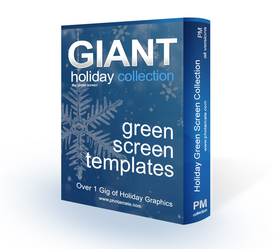 SAVE 65% - Giant Holiday Template Collection HOLTC