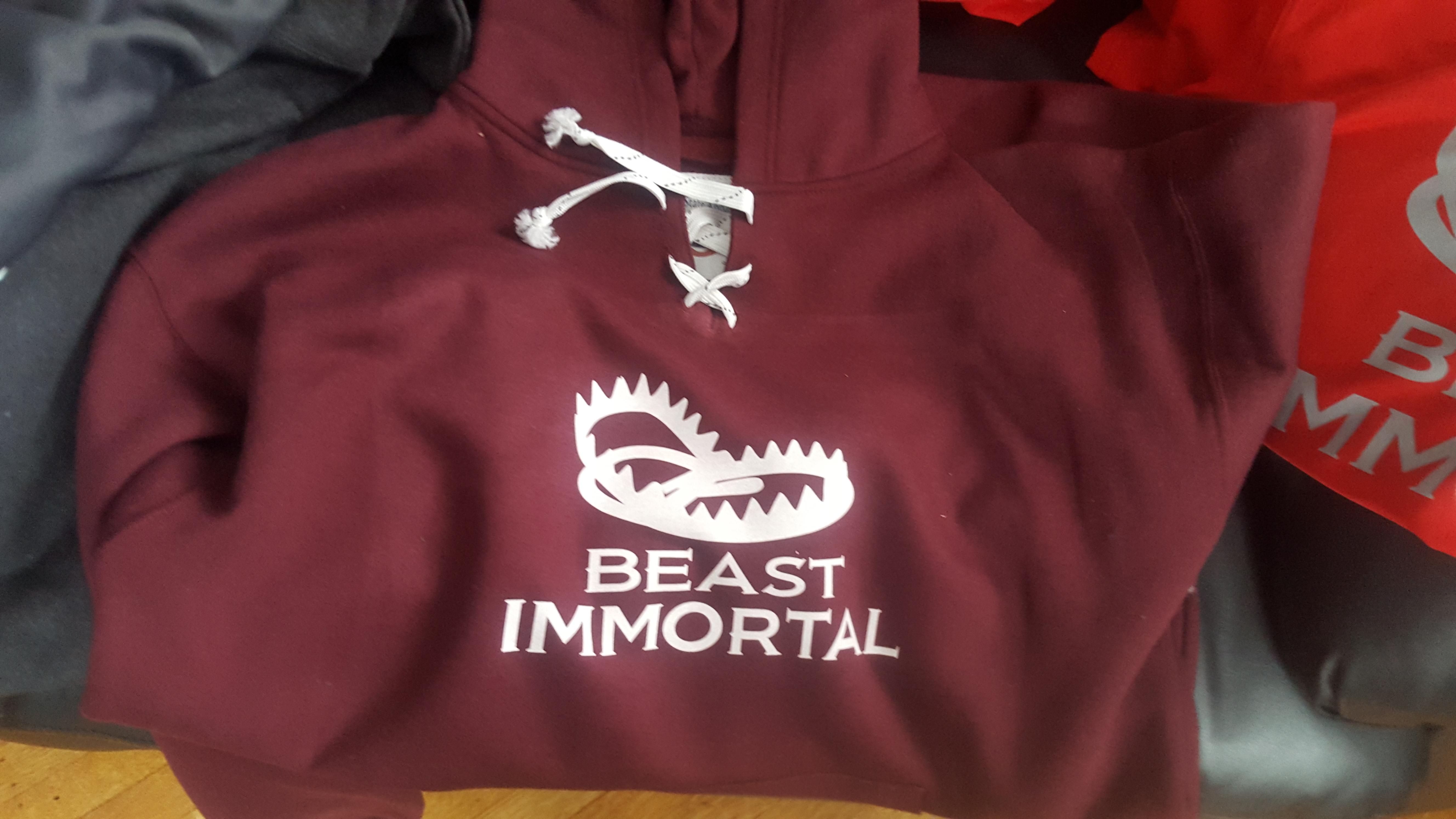Beast Immortal hockey hoodie 00016