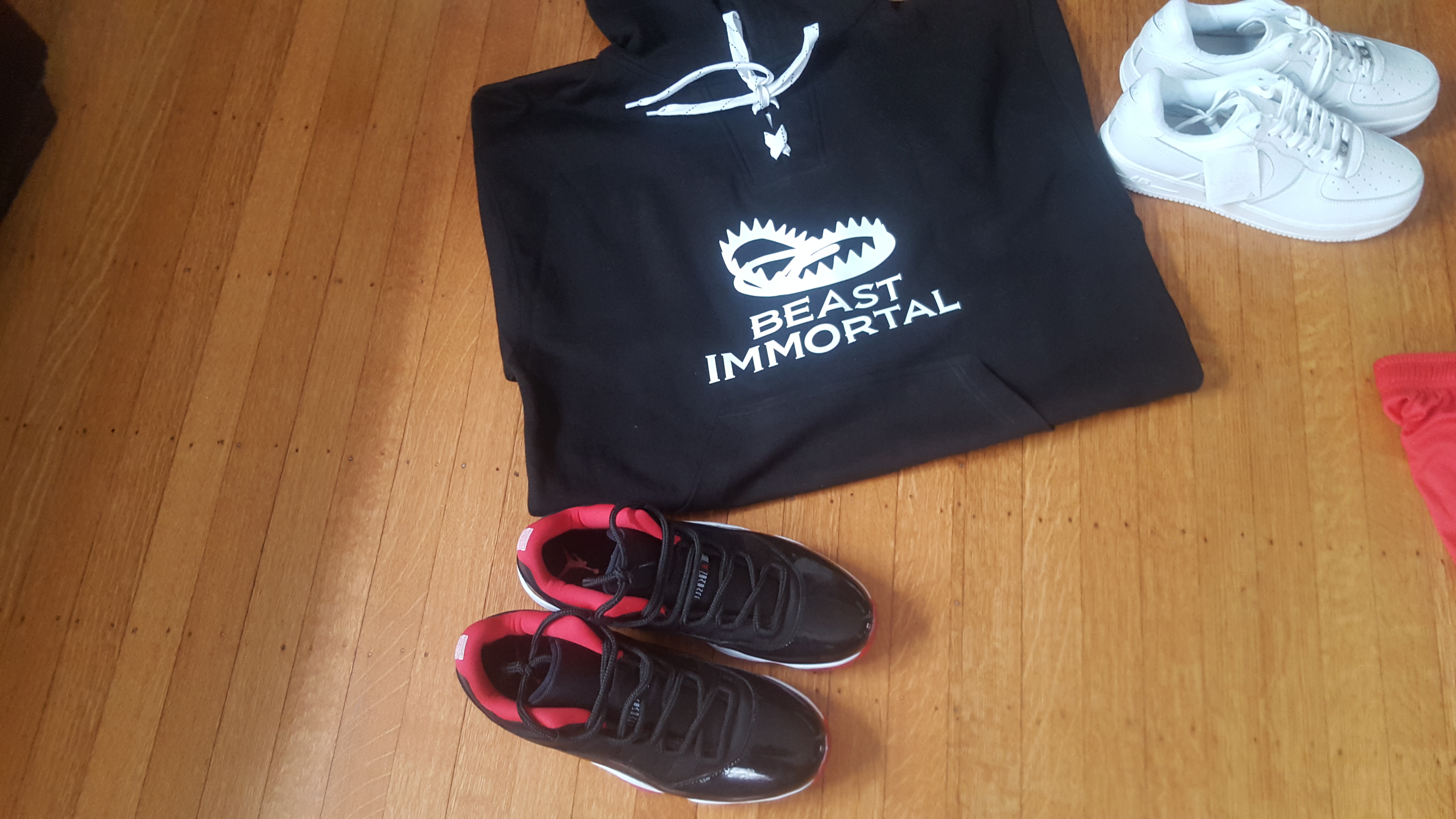 3 Beast Immortal different color hockey hoodie 00018
