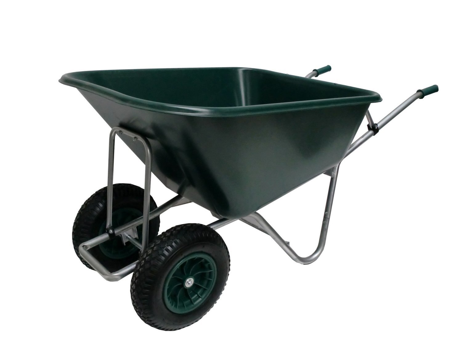 County Samson Twin Wheelbarrow