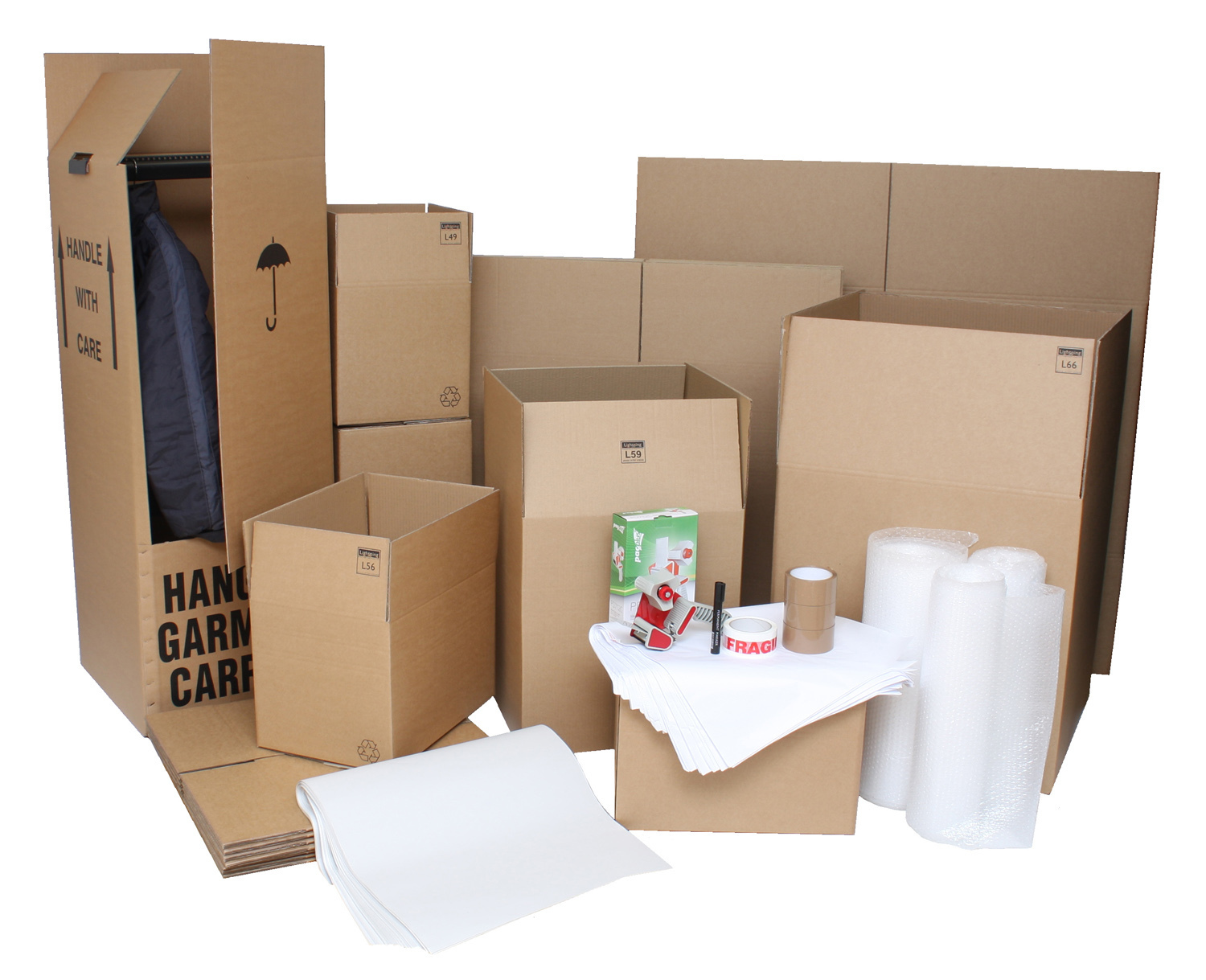 Extra Large Moving Box Pack