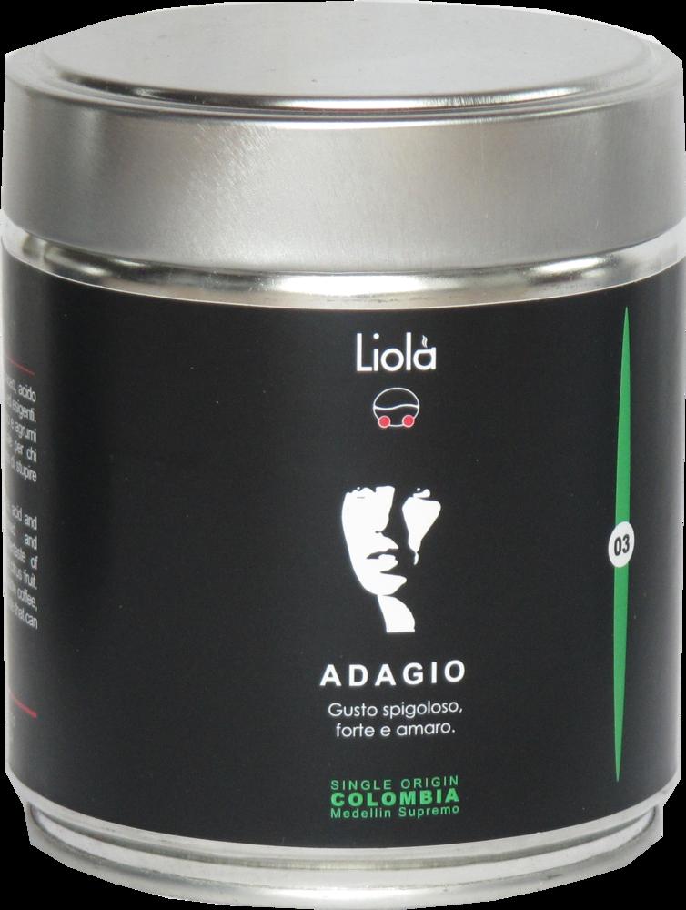 03 - ADAGIO 100% Arabica single origin - COLUMBIA Meddelin Supremo