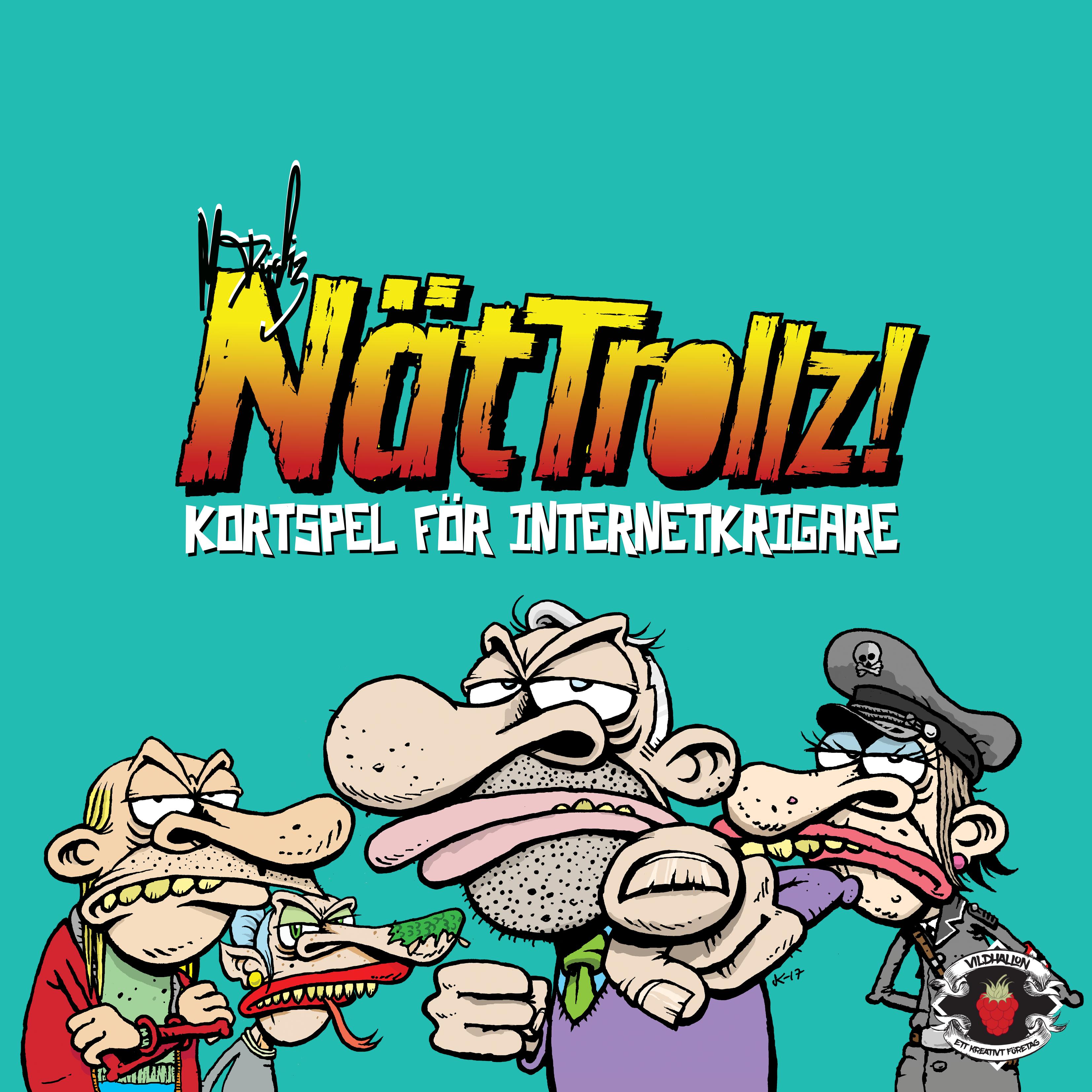 [Partykortspel] NätTrollz! VILD006