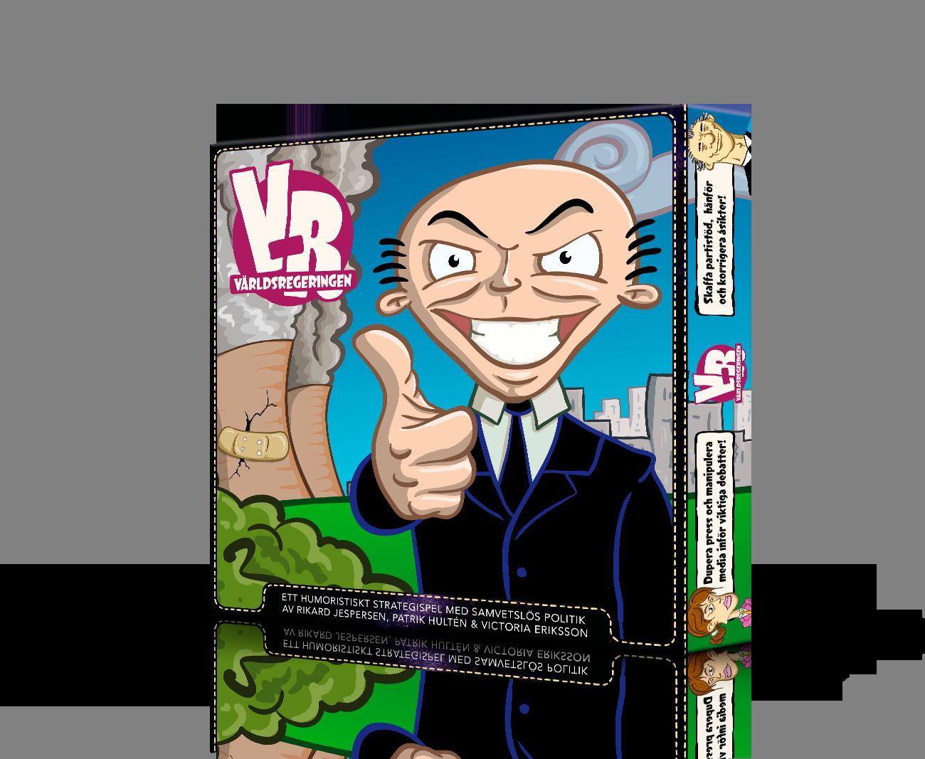 [Brädspel] Världsregeringen VILD009