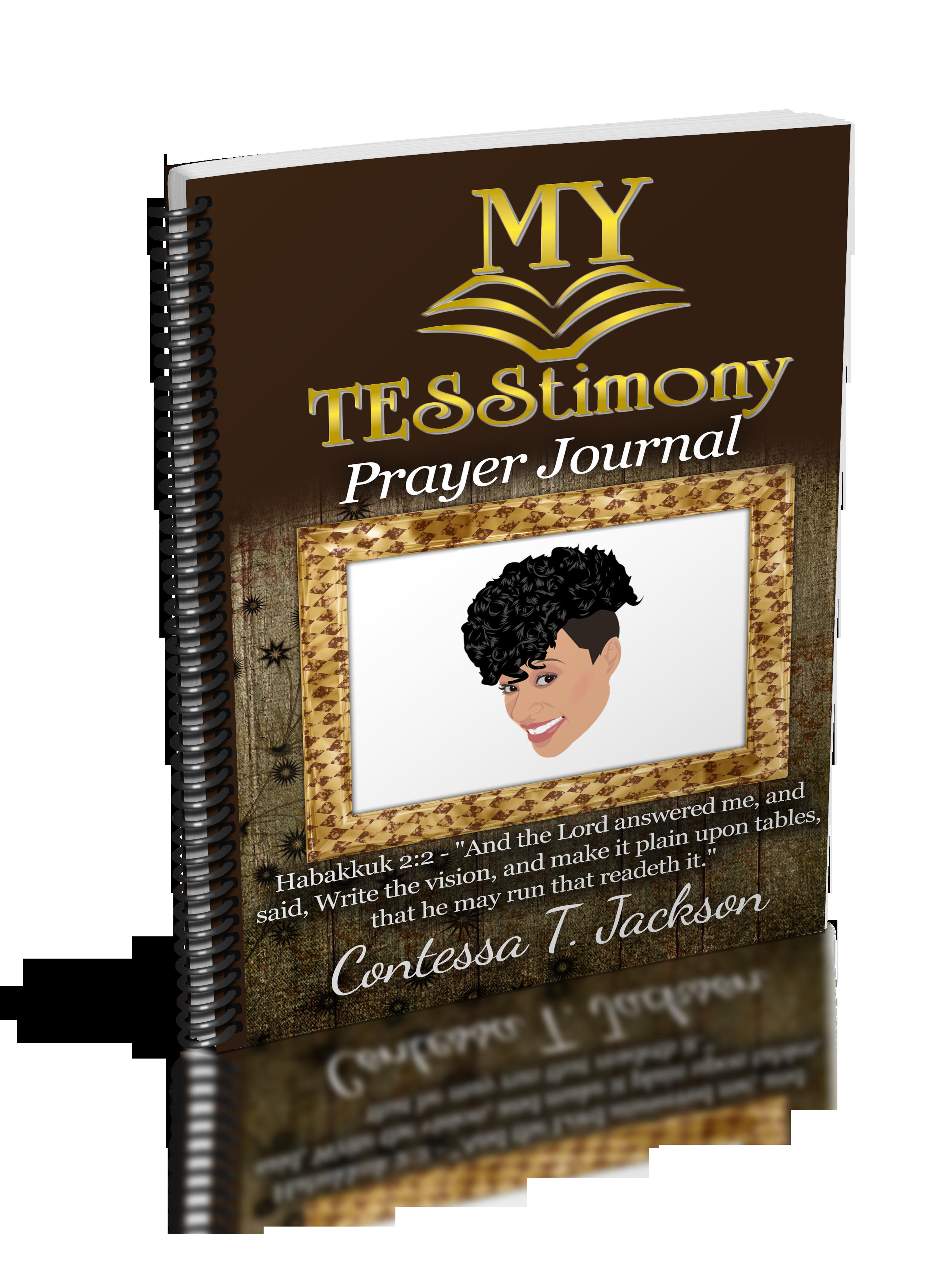 My TESStimony Prayer and Daily Journal 00005