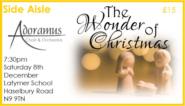 The Wonder of Christmas Concert Side Aisle Seat EARLY BIRD OFFER 00016