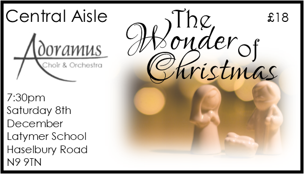The Wonder of Christmas Concert Central Aisle Seat EARLY BIRD OFFER 00018