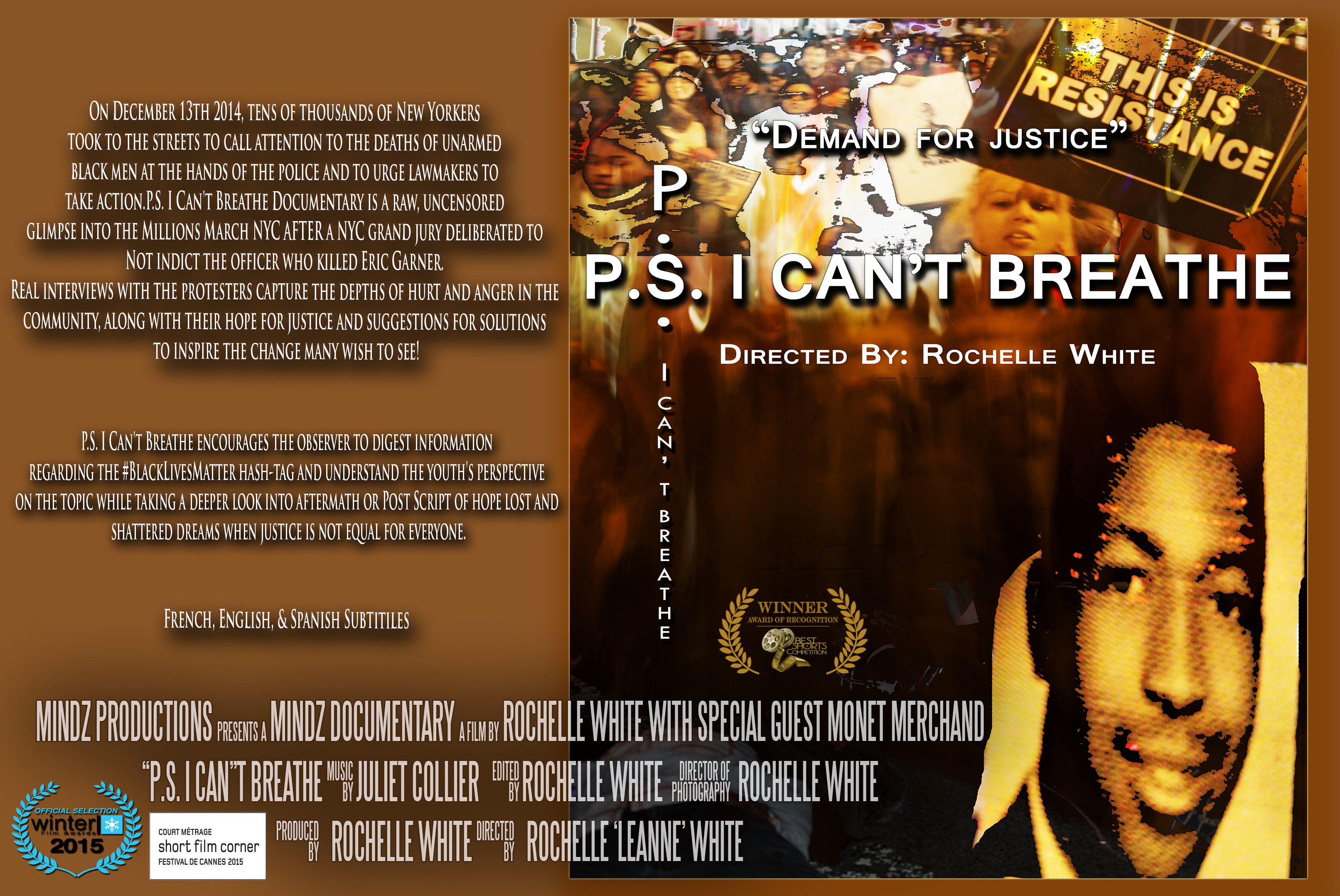 P.S. I Can't Breathe DVD with PPR 0000000