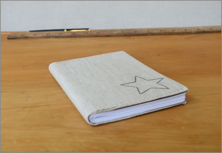 Journal - Recycled Paper (Stardust)