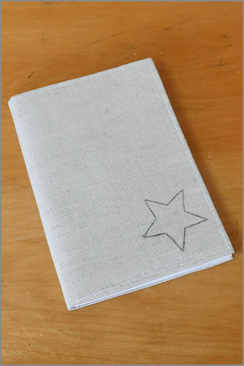 Stone Notebook - Star Dust 01132