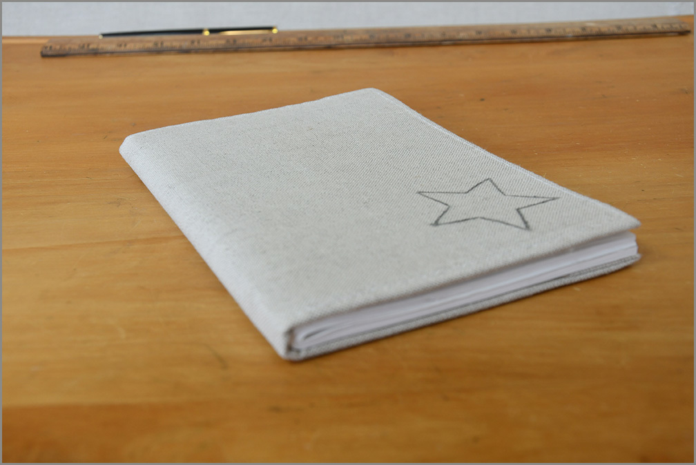 Stone Notebook - Star Dust