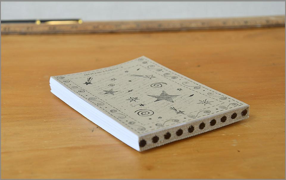 Doodle Pad - Sepia