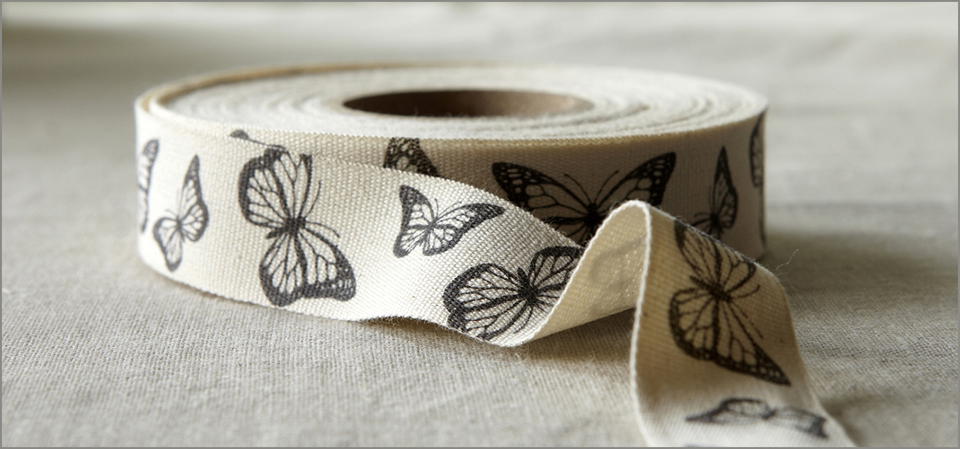 Butterfly - Cotton Ribbon