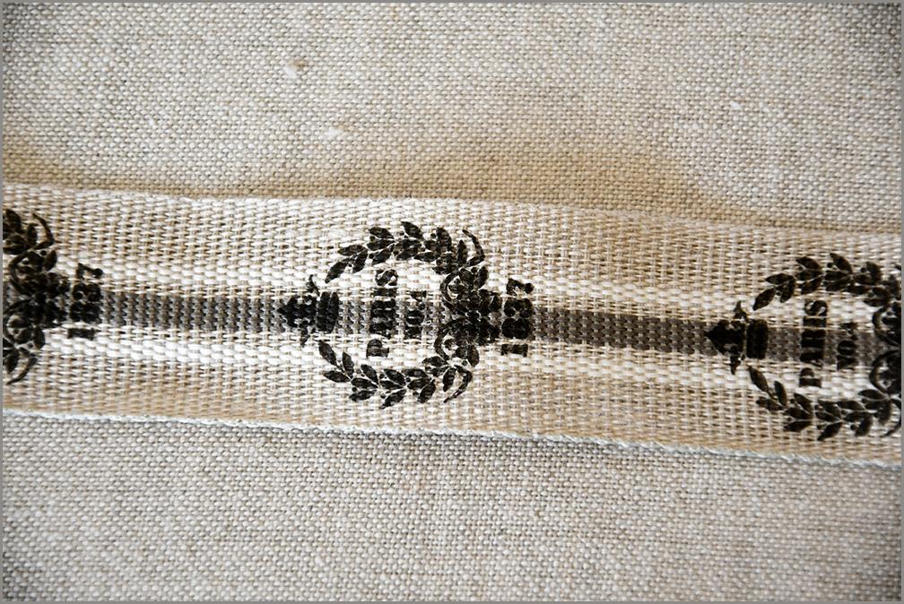Paris - Woven Flax Ribbon
