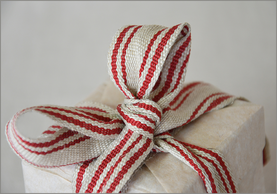 Gemini - Saddle-stitch Flax Ribbon