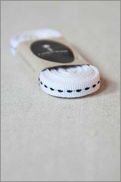 White Light - Petersham Ribbon 00067