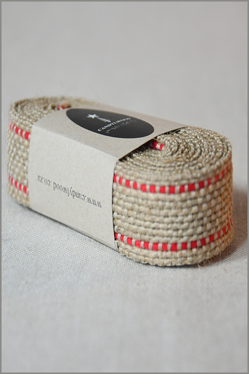Rustic Red - Jute Ribbon 01214