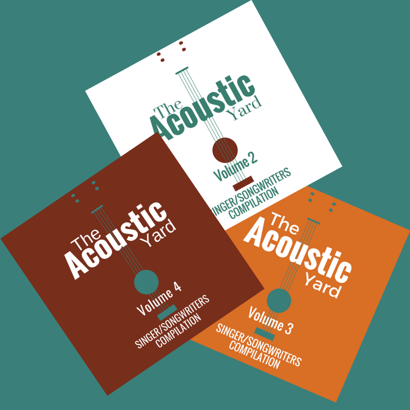 The Acoustic Yard Compilation CD set Volume 2, 3 and 4 00007