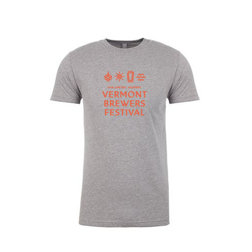 Vermont Brewers Festival 2017 T-Shirt Grey 00008