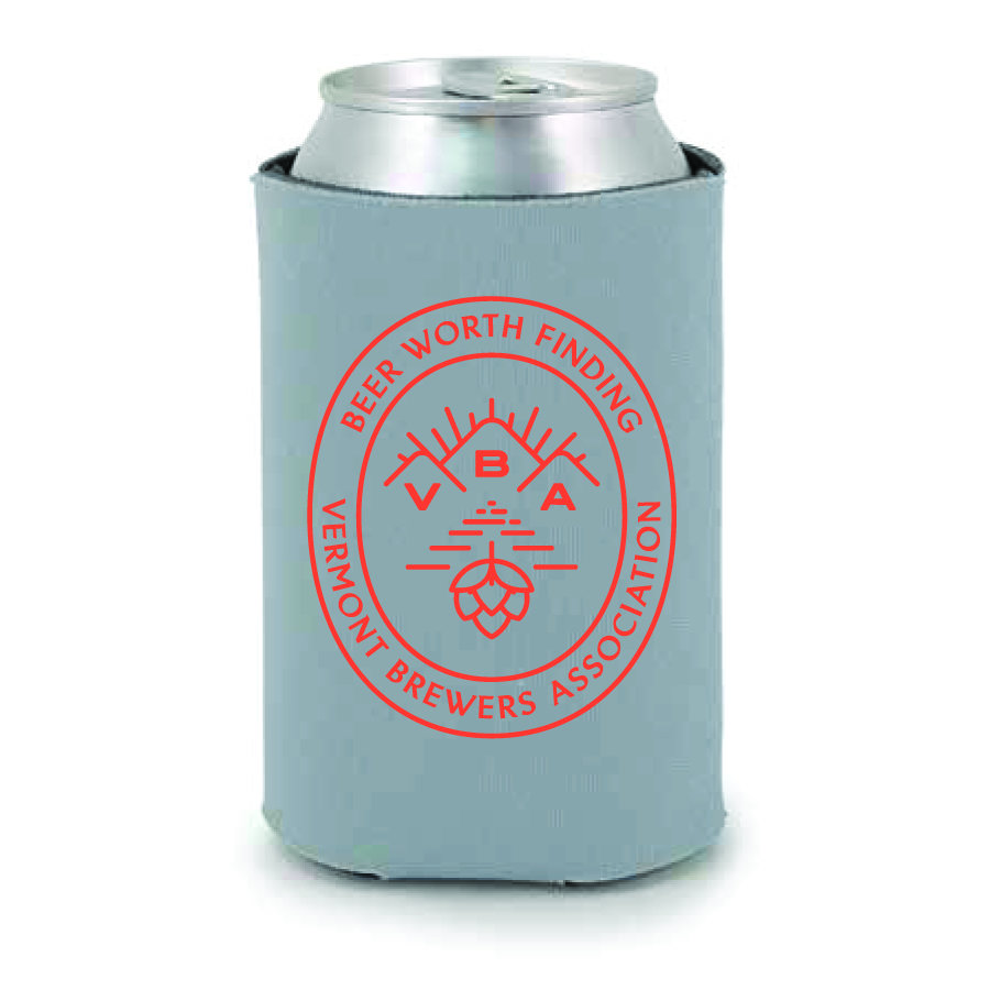 Beer Koozie - Gray 00012