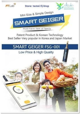 S A L E ! - The Best Geiger Counter For Smartphones FSG-001