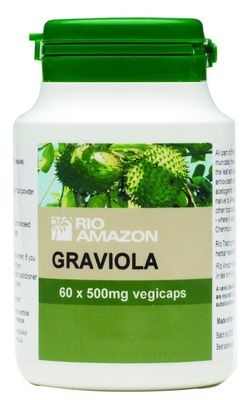 Rio Amazon Graviola 500mg 60 vegicaps