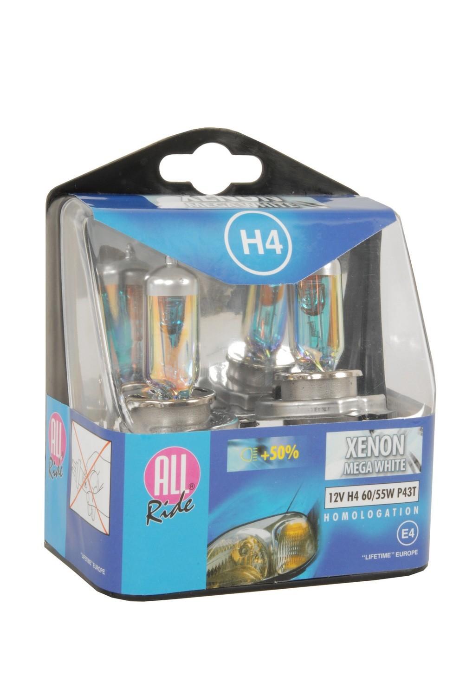 H4 Xenon Headlight Bulbs 2pc
