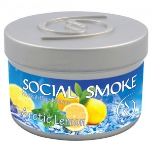 SOCIAL SMOKE: ARCTIC LEMON 00919