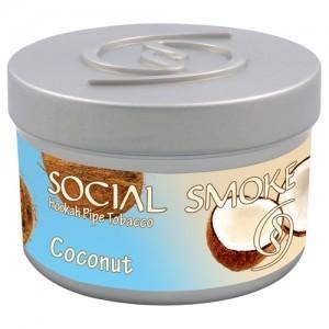 SOCIAL SMOKE: COCONUT 00955