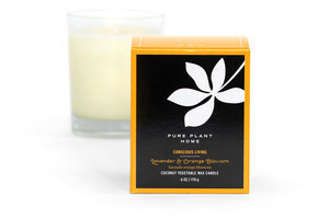 Non Toxic Coconut Wax Candles Stockholm Glass - 8 Aromas 00003