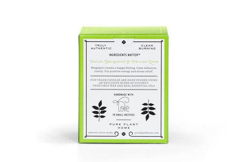 Back Italian Bergamot/Persian Lime Coconut Wax