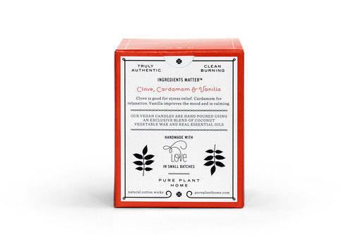 Back Clove/Cardamon/Vanilla Coconut Wax