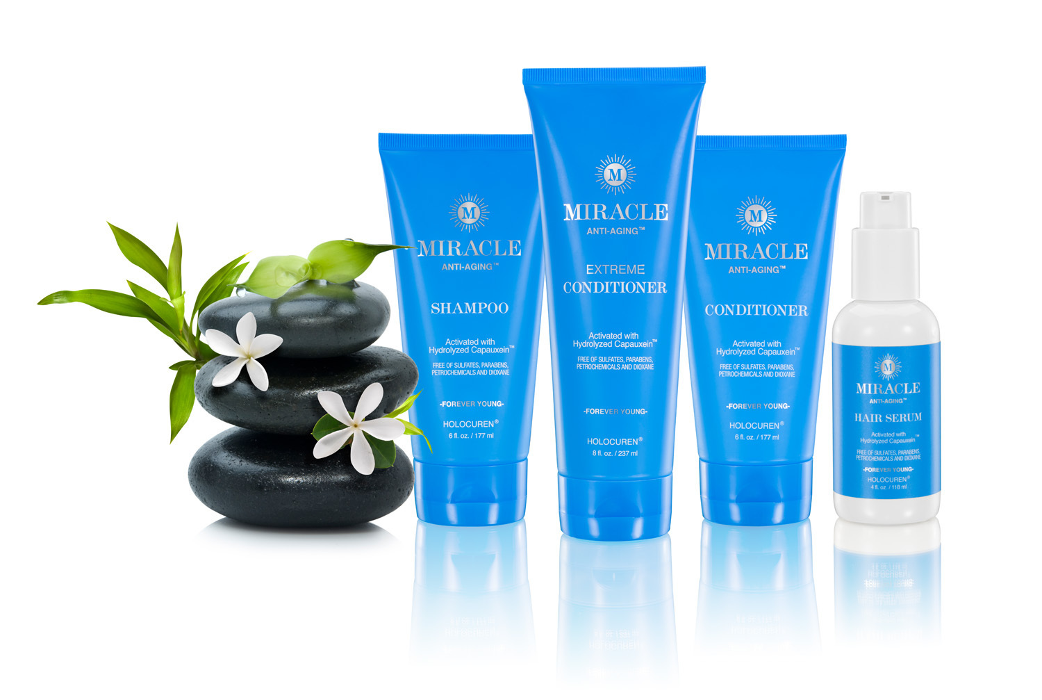 Miracle Anti-Aging Hair Care Set For Hair Growth, Thinning Hair and Hair Repair 00005