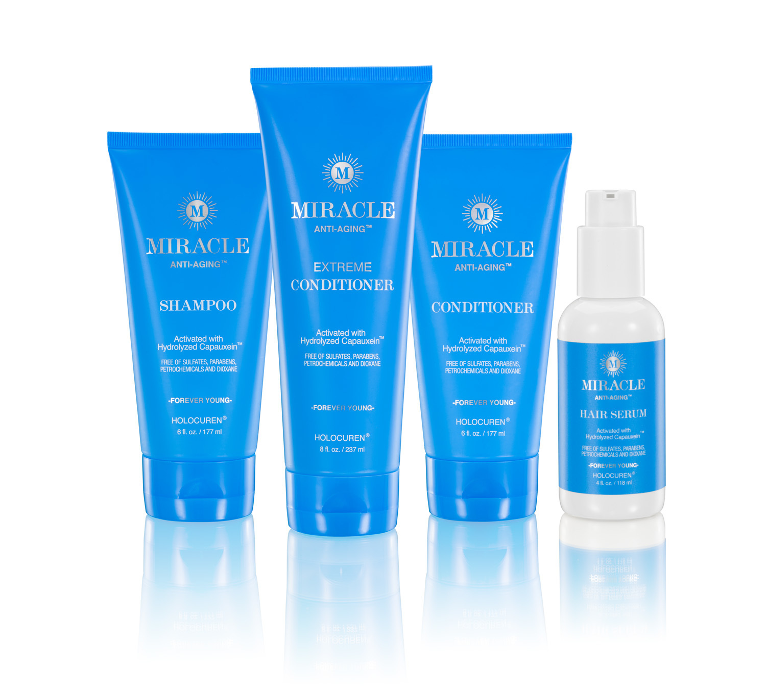 Set of Miracle Anti-Aging Hair Care