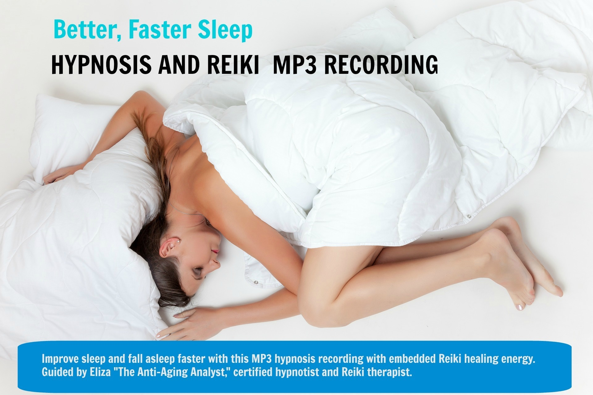 Hypnosis MP3 For Faster, Better Sleep (Digital Product) 00006