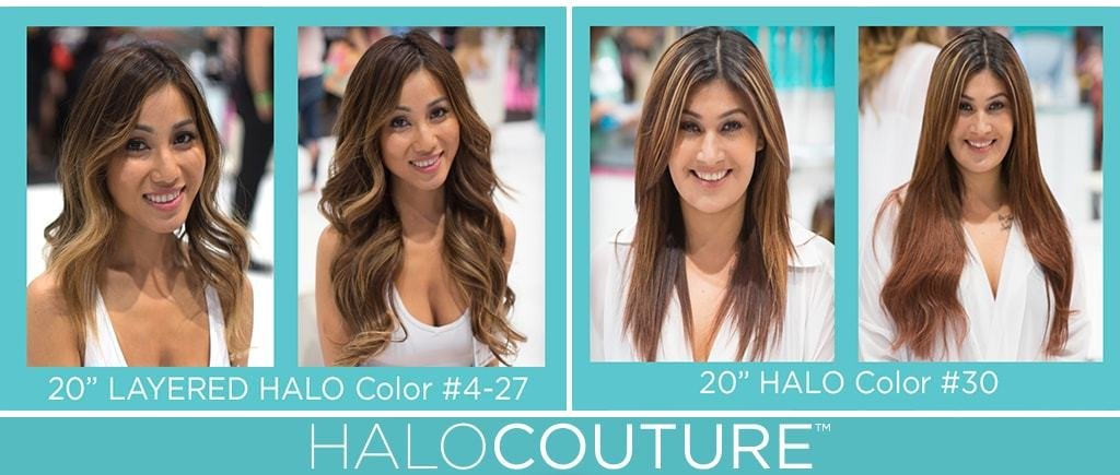 Halocouture The Original Halo 882 Ash Blonde With Cool