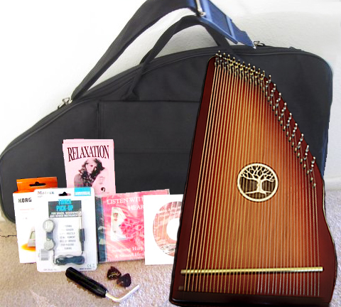Redwood Symphony Harp Complete Set 000001