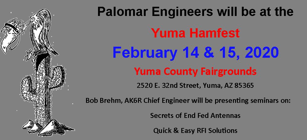 Palomar Yuma Hamfest 2020 png - Store