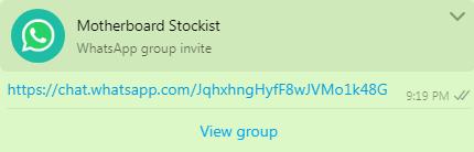 Motherboard Stockist