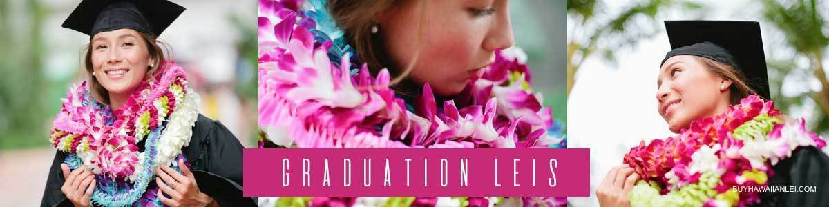 Hawaiian Graduation Leis