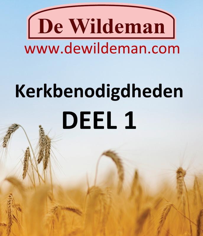 Catalogus Kerkbenodigdheden DEEL 1