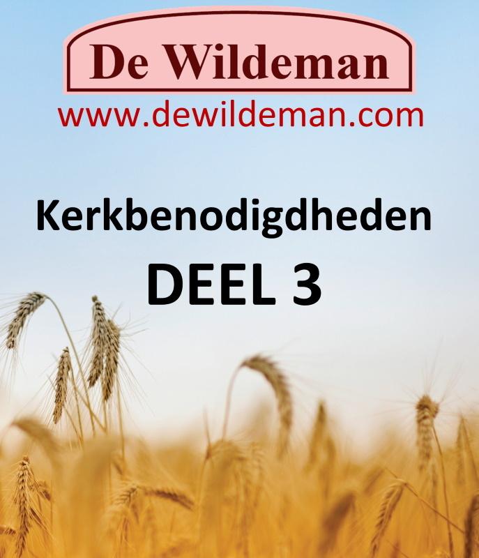 Catalogus Kerkbenodigdheden DEEL 3