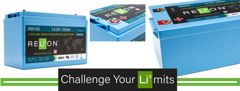 Lithium Iron Phosphate | Batteries | Marine | Boat | Coastal