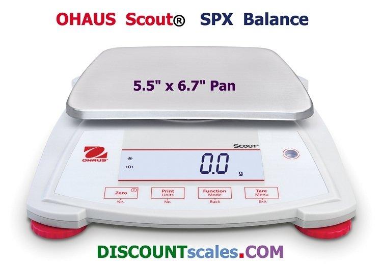Ohaus Model SPX6201