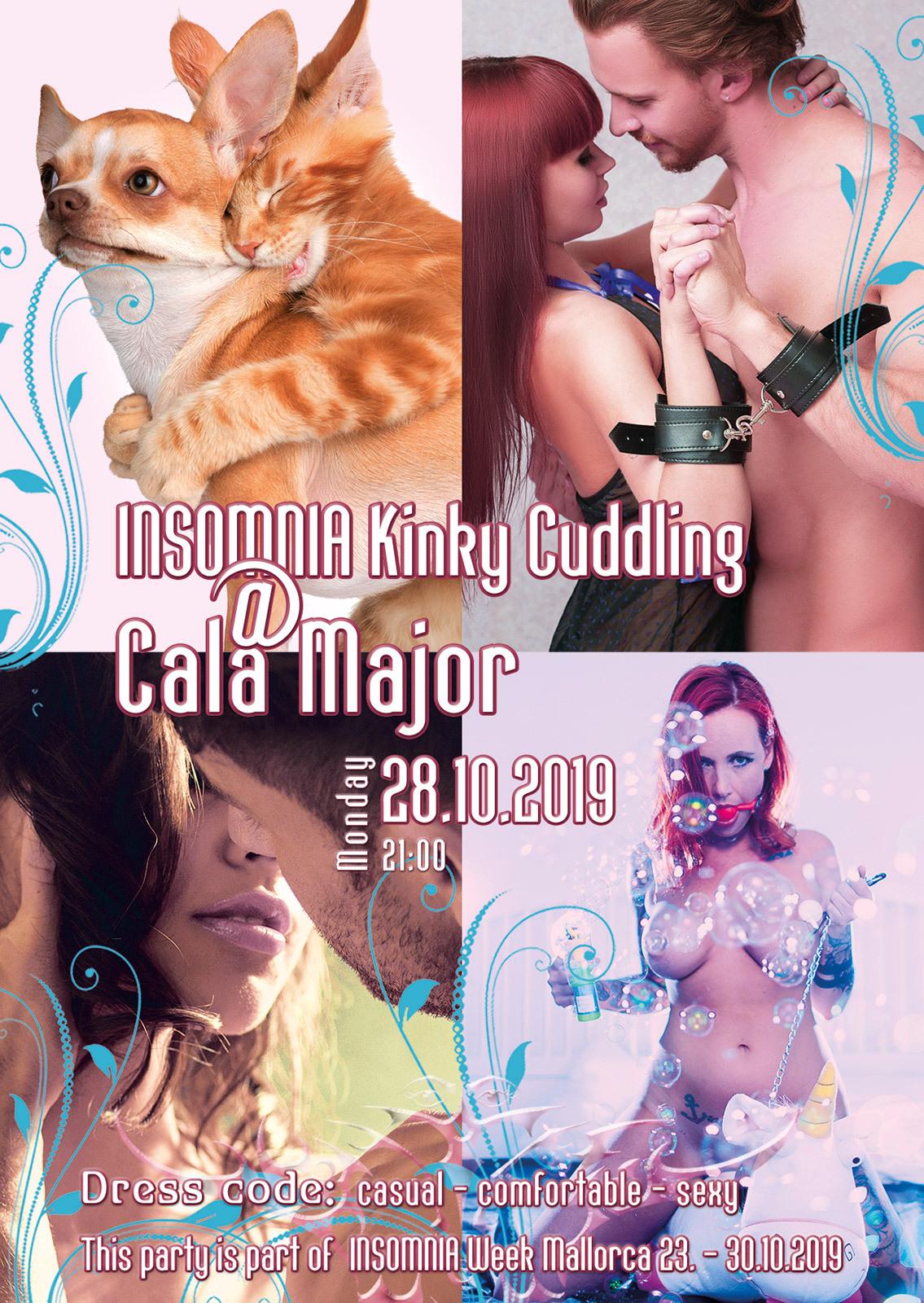Kinky Cuddling @ Cala Major