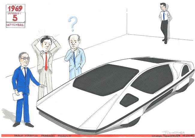 La vera storia della Ferrari Modulo di Paolo Martin