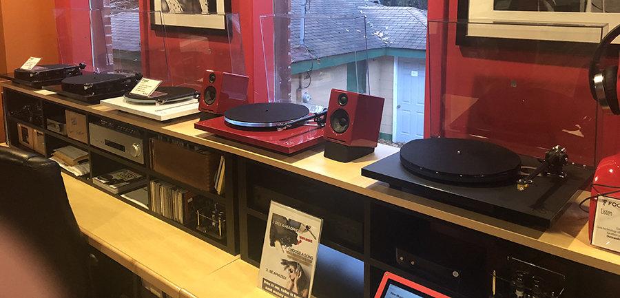 New & Used LPs | HiFi Turntables & Headphones | Music to My