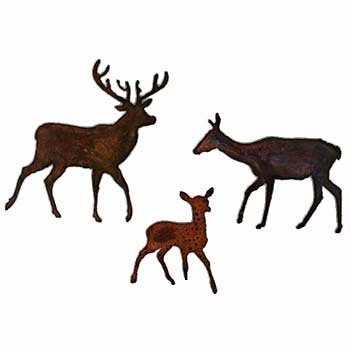 Deer magnets, fridge magnets